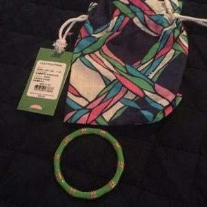 Lilly Pulitzer Bamboo Bangle Bracelet